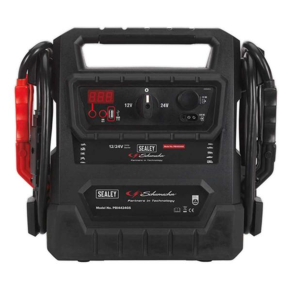 Sealey PBI4424GS RoadStart Emergency Jump Starter 12/24V 4600 Peak Amps Thumbnail 2