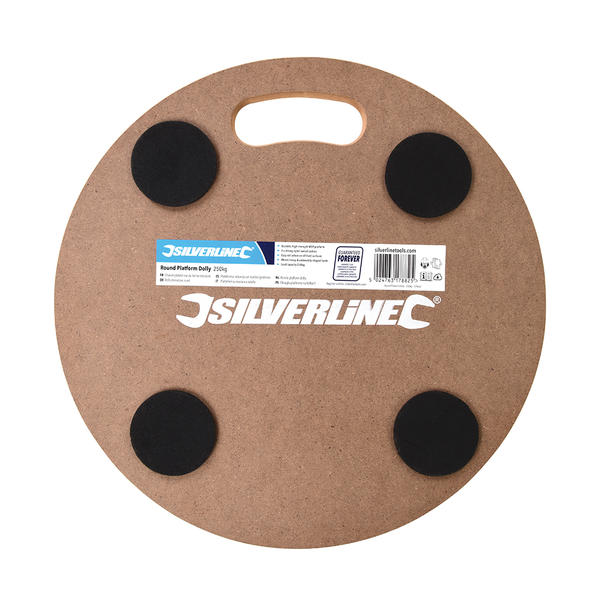Silverline 739663 Round Platform Dolly Load capacity 250kg Thumbnail 2