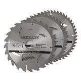 Silverline 749249 TCT Circular Saw Blades 3pk - Second