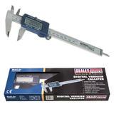 "Sealey AK962EV Digital Vernier Caliper 0-150mm/0-6"" - Second"