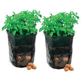 2 Silverline 261137 Potato Planting Bags 360 x 510mm
