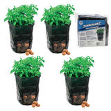 4 Silverline 261137 Potato Planting Bags 360 x 510mm