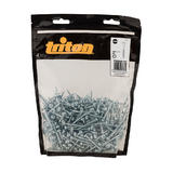 "Triton 687311 Zinc Pocket-Hole Screws Washer Head Fine HF 7 x 1-1/2"" 500pk"