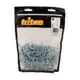 Triton 709782 Zinc Pocket-Hole Screws Washer Head Coarse 500pk