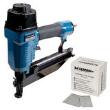 Silverline 64mm Air Finishing Nailer with 2500pk of 50 x 1.55mm 16 Gauge Nails