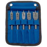 Draper 17426 FB102/5 Flat Wood Bit Set (5 Piece)