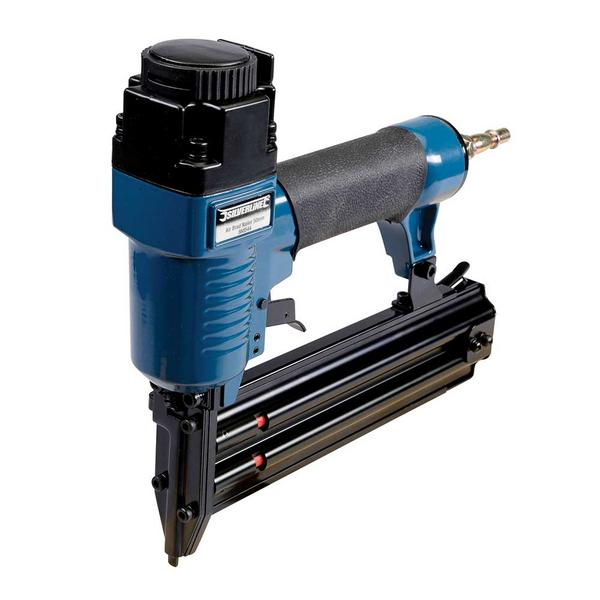 Silverline 868544 Air Brad Nailer 50mm with 5,000 Galvanised smooth shank nails Thumbnail 5