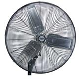 "Draper 09436 HVW30 Expert Industrial Wall Mounted Fan 30"" (750mm) 230V 350W"