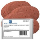 40 Bond Sanding Discs For Bosch GEX150AC 150mm Random Orbit Sander Mixed Grades