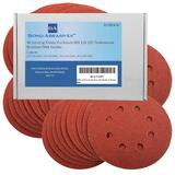 40 Bond Sanding Sheets For Ryobi R0S300 Random Orbital Sander 125mm All Grades