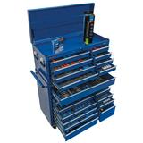 "Draper 60140 *MEGABLUE 40"" Mechanic's MEGAKIT Tool Kit Blue"