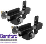 Gatemate 50mm High Security Euro Lock for Garden Gate/Garage/Shed Long Throw Bar