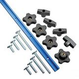 Rockler 679127 Universal T-Track Set 17pce 1219mm (4')