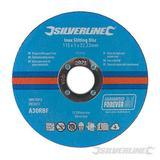 Silverline Inox Slitting Discs 50pk