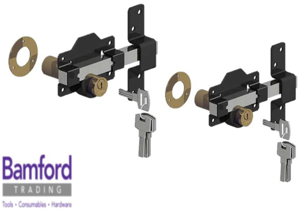 519b5c751c2  Gatemate 149 1136 Double Locking Keyed Alike Premium Rimlock 2 3 4