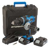 Draper 89523 Storm Force 20V Cordless Hammer Drill with 2 Li-ion Batteries