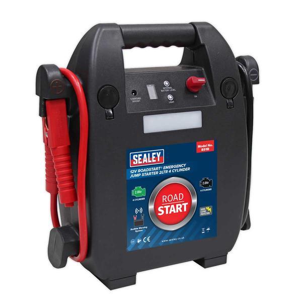 Sealey RS1B RoadStart Emergency Jump Starter 12V 2 Litre 4 Cylinder Thumbnail 3