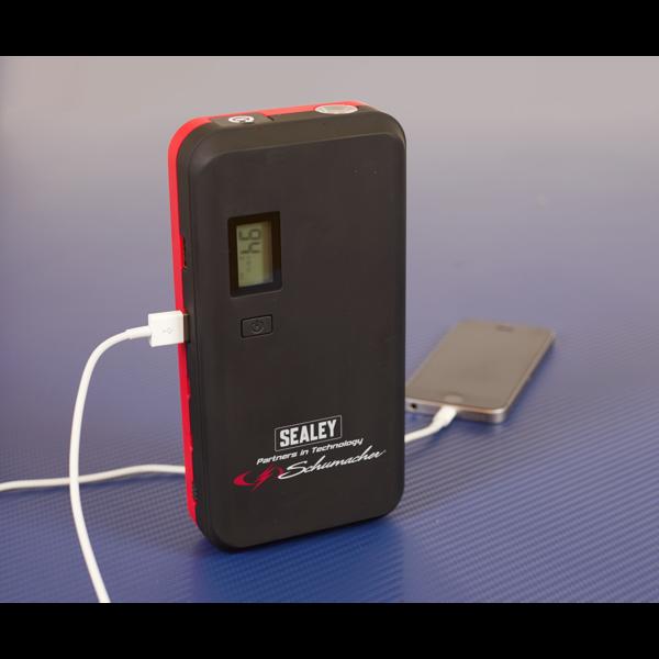 Sealey SL69S 1000A Lithium Jump Starter Power Pack Thumbnail 5