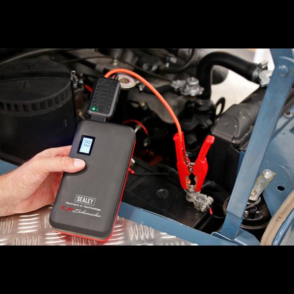 Sealey SL69S 1000A Lithium Jump Starter Power Pack Thumbnail 4