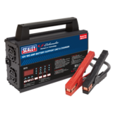 Sealey BSCU170 Battery Support Unit & Charger - 12V 100A