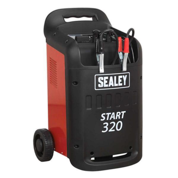 Sealey START320 Starter/Charger 320/45Amp 12/24V 230V Thumbnail 1