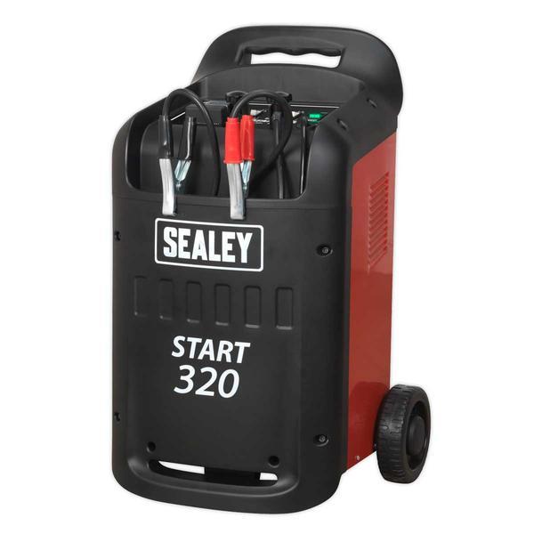 Sealey START320 Starter/Charger 320/45Amp 12/24V 230V Thumbnail 2