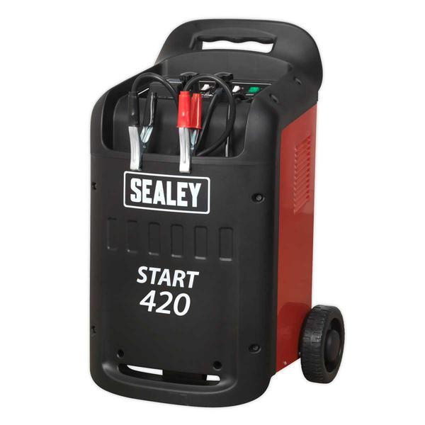 Sealey START420 Starter/Charger 420/60Amp 12/24V 230V Thumbnail 2