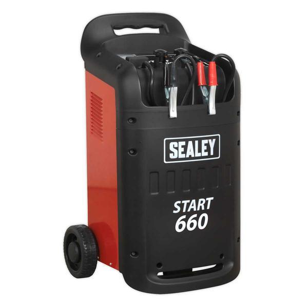 Sealey START660 Starter/Charger 660/100Amp 12/24V 230V Thumbnail 1