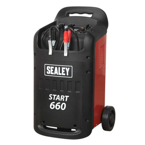 Sealey START660 Starter/Charger 660/100Amp 12/24V 230V Thumbnail 2