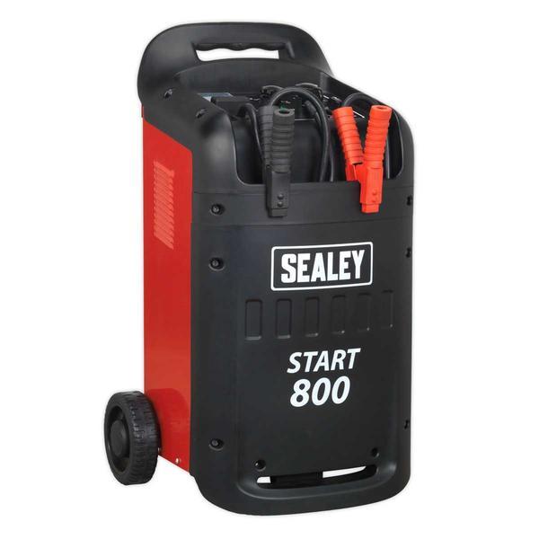 Sealey START800 Starter/Charger 800/110Amp 12/24V 400V Thumbnail 1