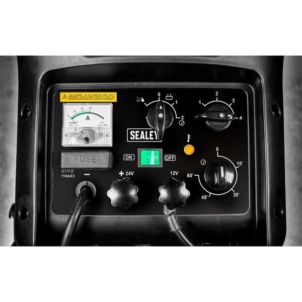 Sealey START800 Starter/Charger 800/110Amp 12/24V 400V Thumbnail 2
