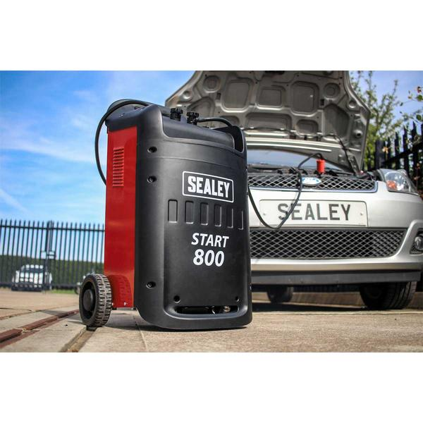 Sealey START800 Starter/Charger 800/110Amp 12/24V 400V Thumbnail 3