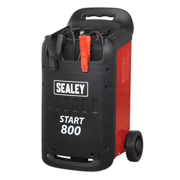 Sealey START800 Starter/Charger 800/110Amp 12/24V 400V Thumbnail 4