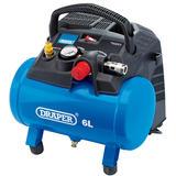 Draper 02115 DA6/180 6L Oil-Free Air Compressor (1.2kW)