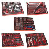 Sealey Premier Tool Tray Kit with Sockets, Bits, Spanners, Screwdrivers & Pliers