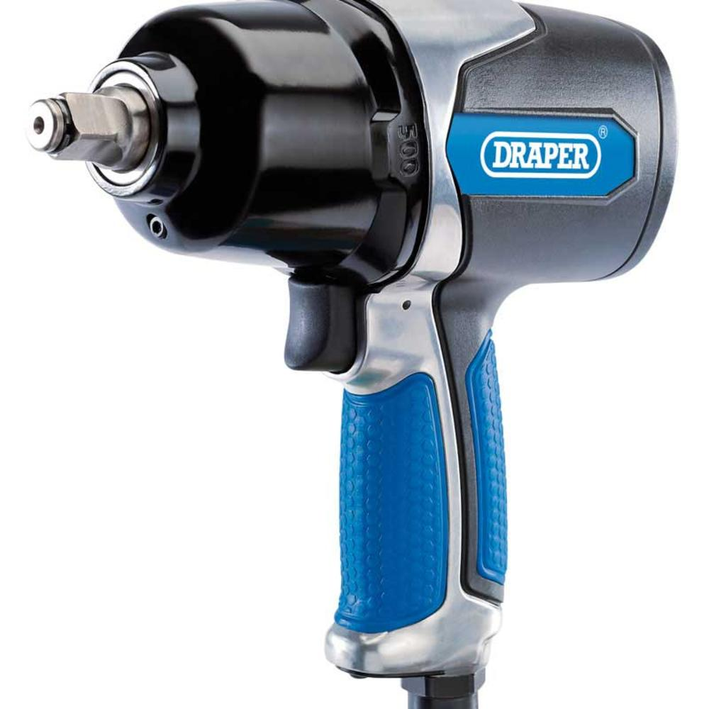 "Draper 83745 DAT-AIW12 Air Impact Wrench (1/2"" Square Drive)"