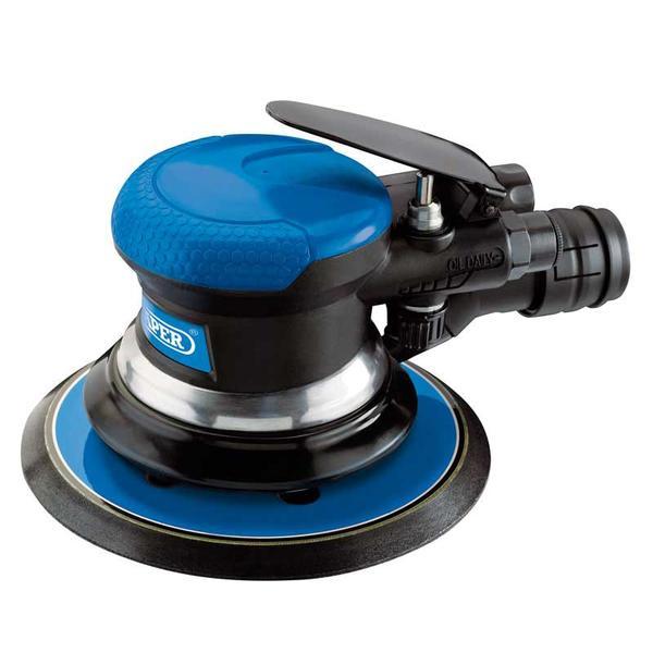Draper 84125 DAT-APS Dual Action Air Sander (150mm) Thumbnail 1