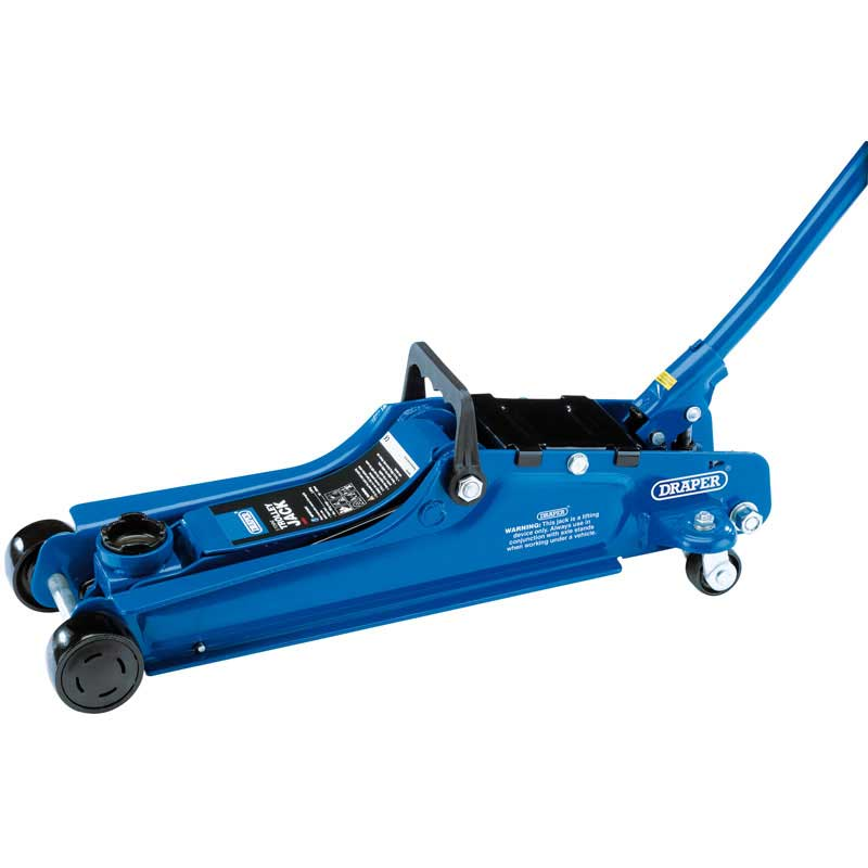 Draper 27634 Light Duty Trolley Jack Blue 2 Ton
