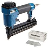 Silverline 675062 Air Brad Nailer with 5000 Smooth Shank Nails 50mm x 1.25mm 18G