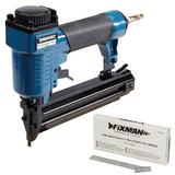 Silverline 675062 Air Brad Nailer with 5000 Smooth Shank Nails 12mm x 1.25mm 18G