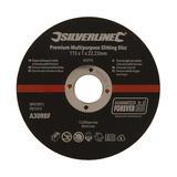 Silverline  833774 Premium Multipurpose Slitting Disc 10pk