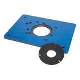 Rockler  893608 Phenolic Router Plate for Triton Routers