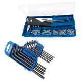 Draper 2 Way Hand Riveter Kit with Draper 9 Piece TX-STAR Key Set