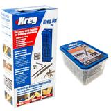Kreg Jig HD Wood Joinery Kit Heavy Duty Set with Drill Bit & Extra Screws KJHD