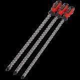 Sealey AK4334 Screwdriver Set 3pc Extra-Long PowerMAX®