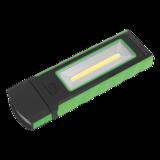 Sealey LED4101GN Magnetic Pocket Light 3W + 0.5W COB LED - Green