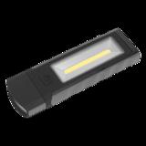 Sealey LED4101GR Magnetic Pocket Light 3W + 0.5W COB LED - Grey