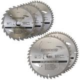 Silverline TCT Circular Saw Blades 205mm & 250mm 30mm Bore with Reduction Rings