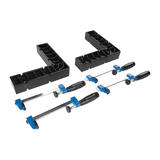 Rockler  881323 Clamp-It® Assembly Square Kit 6pce