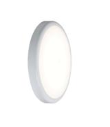 Knightsbridge 230V IP44 9W Emergency Trade LED Flush 6000K (256mm)